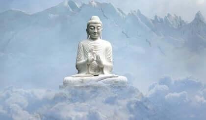 Statue af buddha
