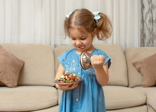 Frugtsnack-udfordringen: Indstil selvkontrol hos børn