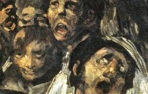 """Psykologien bag de """"sorte malerier"""" af Goya"""