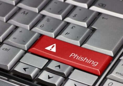 Phishing på tastatur