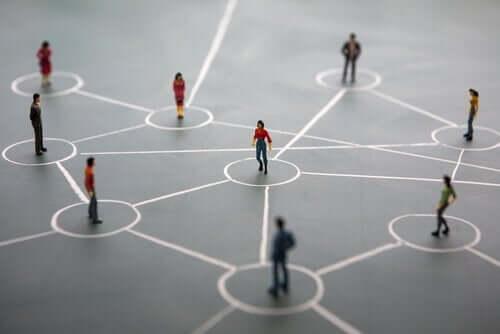 Netværk af personer