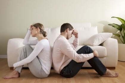 Tre psykologiske vanskeligheder i parforhold