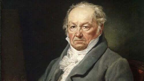 Portræt af Goya