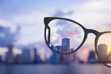 Udsigt gennem briller