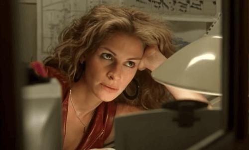 Scene fra film med Julia Roberts