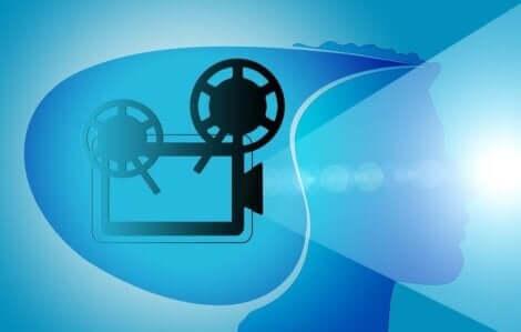 Animation af projektor