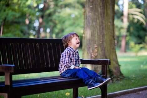 Dreng, der græder
