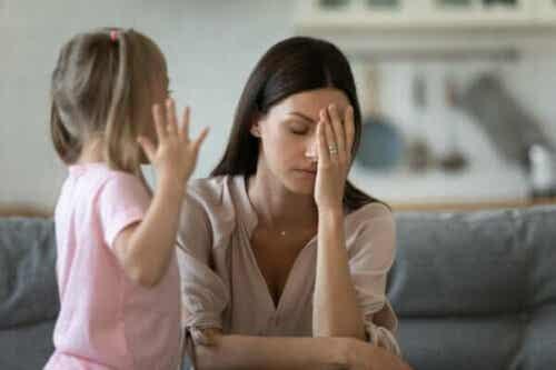 Jeg kan ikke holde det ud, når mit barn får et raserianfald