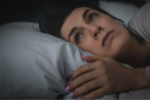 Kvinde, der ikke kan sove