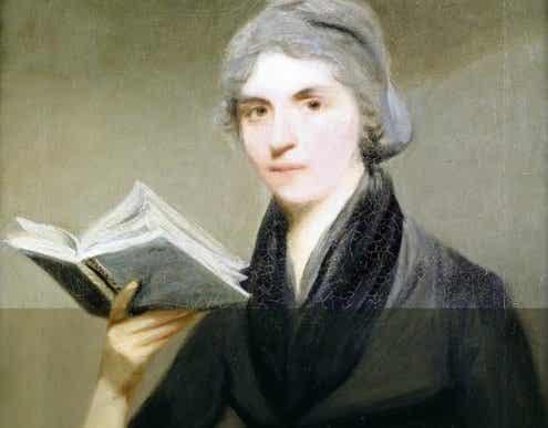 Maleri af Mary Wollstonecraft