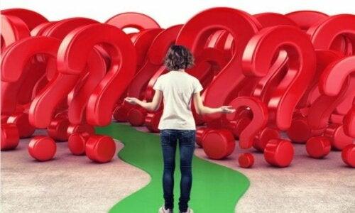 Kombinationen af angst og beslutninger