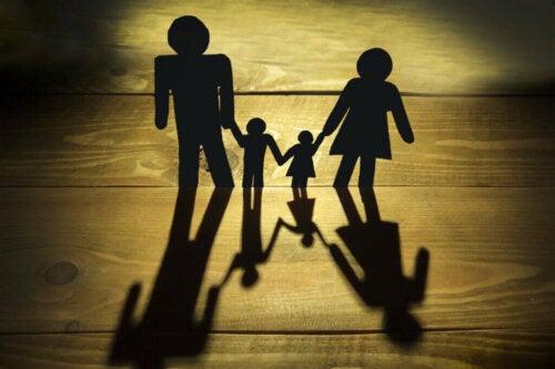 Papirsklip af familie